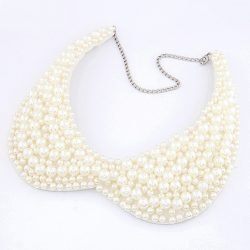 Peter Pan Collar Pearl Necklace
