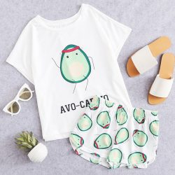 Avocardio Tee and Shorts