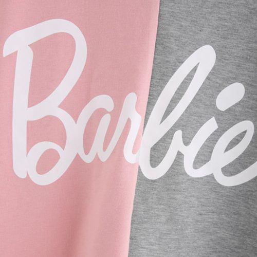 Barbie Sweatshirt pink color block