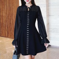 Gothic Mini Dress