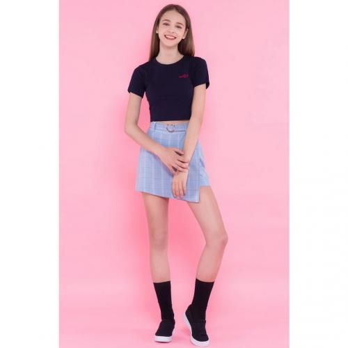teen fashion skirts babyblue
