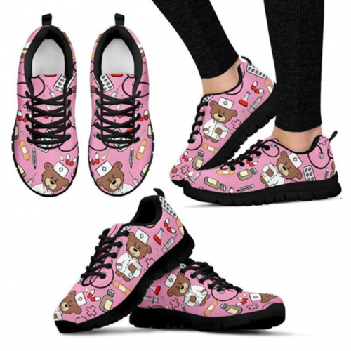 Doctor Teddy Bear Sneakers