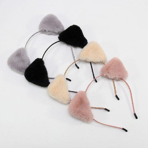 Furry Animal Ears Headband