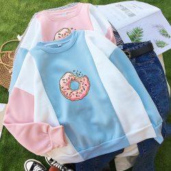 Donut Colorblock Sweater