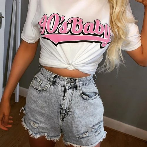 90's Baby Loose Oversize T Shirt