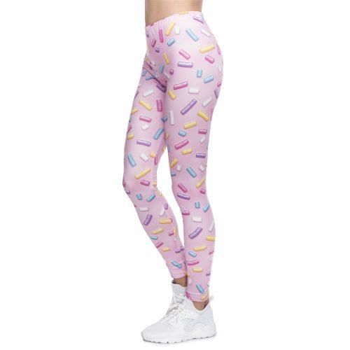 Sprinkles Leggings Pink