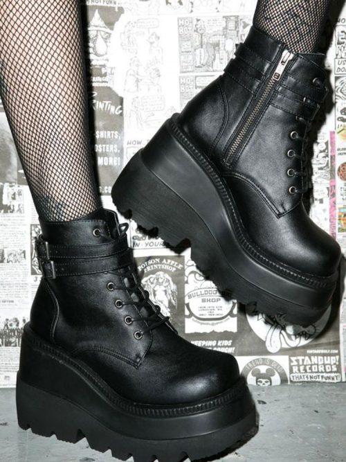 Platform Boots Stompers