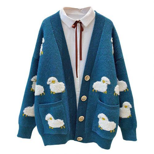 Winter Knit Sweater Lambs